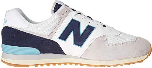 New Balance Men's 574 V2 Sneaker, Rain Cloud/Pigment, 7.5 M US