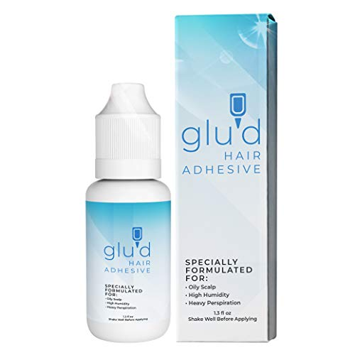 Glued Wig Glue | Hair Replacement Adhesive | Invisible Wig Glue for Front Lace Wig Waterproof