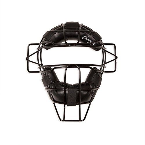 Champion Sports BM2A Extended Throat Guard Adult Catcher's Mask, Black