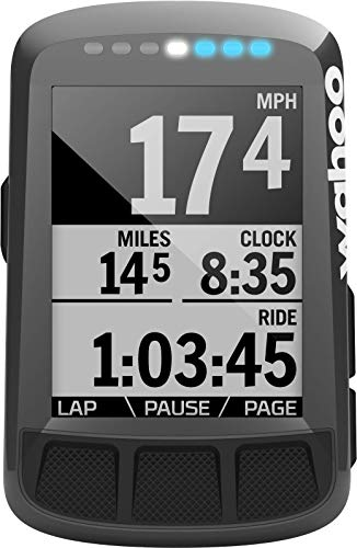 Wahoo Fitness ELEMNT Bolt GPS Bike Computer, Grey