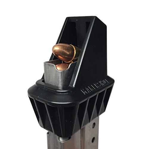 MAKERSHOT Custom 9mm Caliber Magazine Speedloader (Smith & Wesson M&P Shield), Black