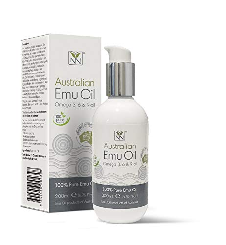 Y-Not Natural - Organic Pharmaceutical 100% Pure Emu Oil 200ml | Free Range Aboriginal Omega 3, 6 & 9 Oil for Hypoallergenic Skin Care, Hair and Healing | All Natural Source of Vitamin K2