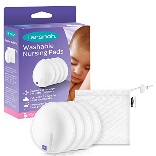 Lansinoh Reusable Nursing Pads for Breastfeeding Mothers