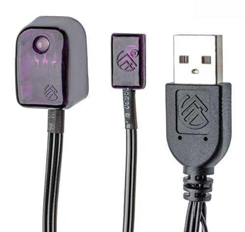 BAFX Products - All-in-One Infrared IR Repeater Kit/Remote Control Extender Cable / 1, 2 or 4 Device Contro (1 Device)
