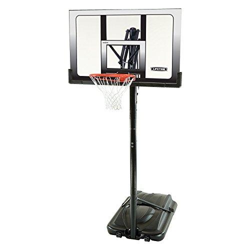 Lifetime 71286 XL Portable Basketball System, 52 Inch Shatterproof Backboard