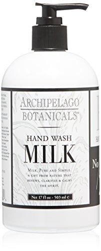Archipelago Botanicals Milk Hand Wash, 17 Fl Oz