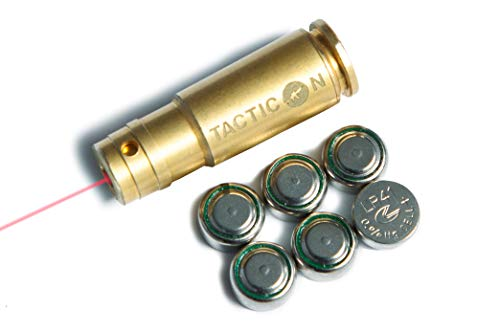 Tacticon Laser Boresight for 9mm | Combat Veteran Owned Company | Zeroing Sight in with Rifle or Handgun | Zero Bore Sighter Lasers for Pistol | 9 mm Boresighter Lazer