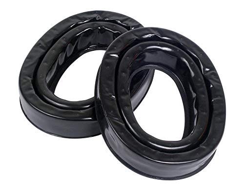 3M Personal Protective Equipment PELTOR Camelback Gel Sealing Rings HY80, Comfort Replacement Earmuff Cushions, Black