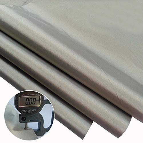 Emf Protection Fabric,RFID EMF Shielding Nickel Copper Fabric Signal Blocking Material 1 Yard,EMF Shielding, Cell Phone Signal Blocking,Bluetooth Block.Military Grade Shielding Fabric(44'' 36'')