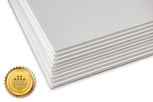 Union Premium Foam Board 20 x 30 x 3/16' 10-Pack : Matte Finish High-Density Professional Use, Perfect for Presentations, Signboards, Arts and Crafts, Framing, Display (White, 20x30)