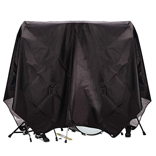 Drum Set Cover(80'x 108'), PVC Coating Drum Cover, Drum Accessories, Electric Drum Kit Cover with Sewn-in Weighted Corners, Drum Sets Accessories