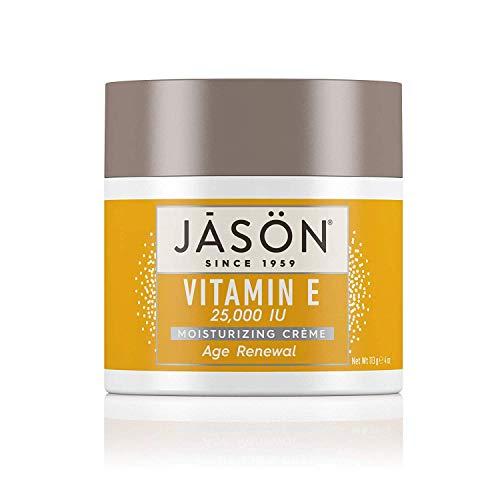 JASON Age Renewal Vitamin E 25,000 IU Moisturizing Crème, 4 Ounce Container