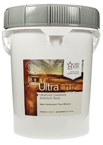 UltraCruz Livestock Selenium Yeast Supplement, 25 lb, Pellet (200 Day Supply)