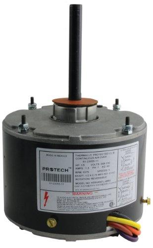51-23055-11 - OEM Upgraded Rheem Condenser Fan Motor 1/5 HP 208-230 Volts 1075 RPM