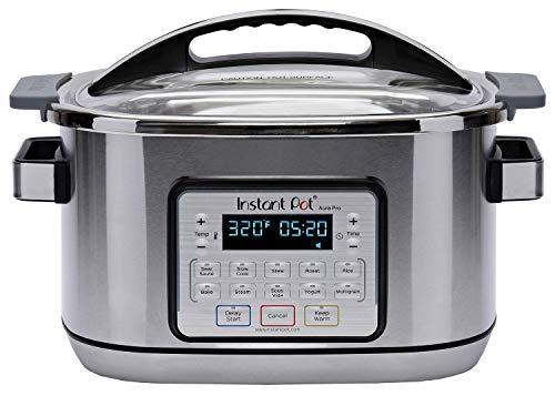 Instant Pot Aura Pro Multi-Use Programmable Slow Cooker with Sous Vide, 8 Quart