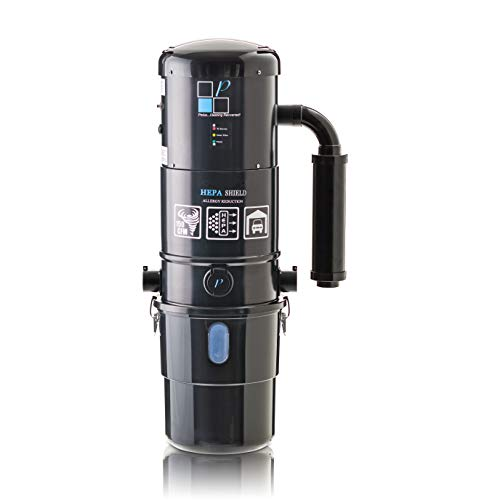Prolux CV12000 Black Central Vacuum Power Unit w Powerful 2 Stage Motor and 25 Year Warranty!