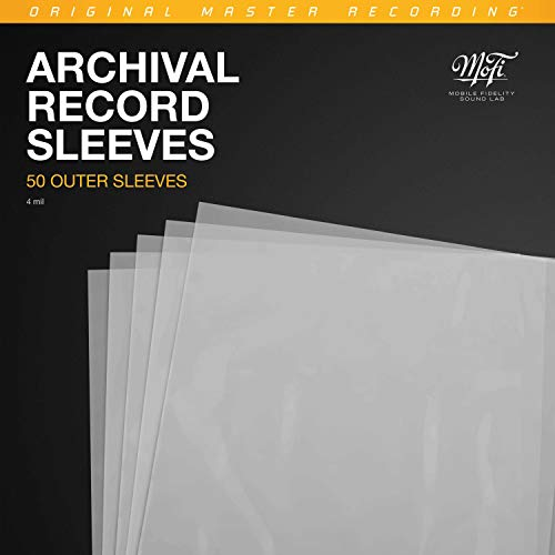 Mobile Fidelity - Record Outer Sleeves (50pk)