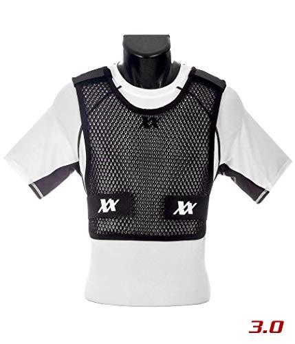 221B Tactical Men's Maxx-Dri 3.0 Body Protection Airflow Ventilation Police Vest, Black, Medium/Large