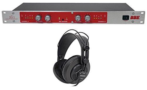 BBE 882I Pro Studio Sonic Maximizer Signal Sound Processor+Samson Headphones