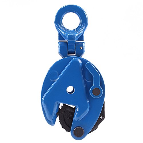 Amarite Vertical Plate Clamp, 1760lbs Working Load Limit, Jaw Opening up to 0.6'