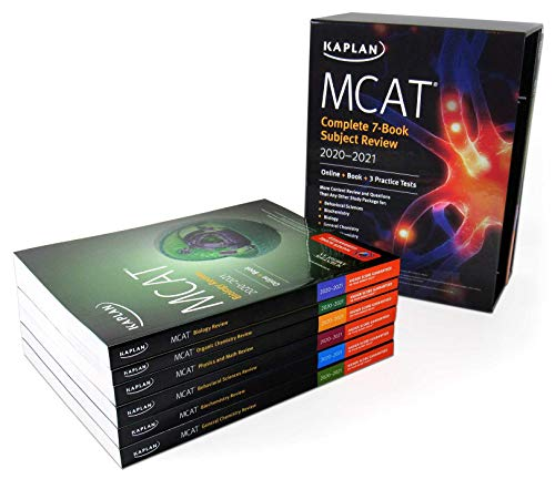 MCAT Complete 7-Book Subject Review 2020-2021
