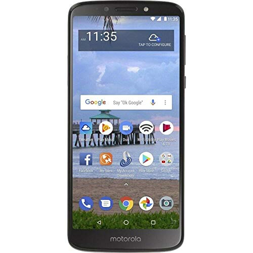 Moto E5 (2018) 16GB, 2GB 5.7' Display, 4000 mAh All Day Battery, FM Radio - (GSM+AT&T+Tmobile + Verizon) Factory Unlocked 4G LTE Smartphone - XT1920DL (US Warranty) (Gray)