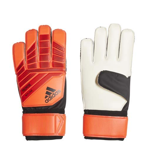 adidas Adult Predator Top Training Goalkeeper Glove, Active Red/Solar Red/Black, Size 7
