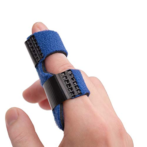 Sumifun Trigger Finger Splints, Mallet Finger Brace for Broken Finger, Finger Knuckle Immobilization for Arthritis Pain, Sport Injuries, Basketball, Baseball, Bowling