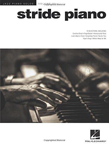 Stride Piano: Jazz Piano Solos Series Volume 35