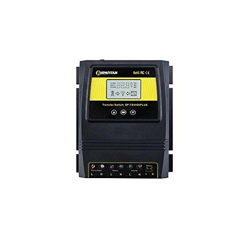 Spartan Power 50A 5500 Watt Automatic Transfer Switch Great for Solar & Wind Off Grid Systems