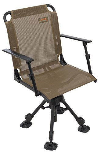 ALPS OutdoorZ Stealth Hunter Deluxe Blind Chair, Brown (8433914)