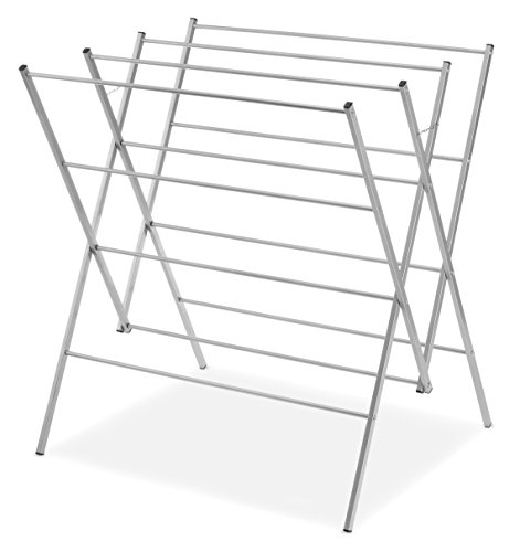 Whitmor Oversized Drying Rack, Silver 6779-8219
