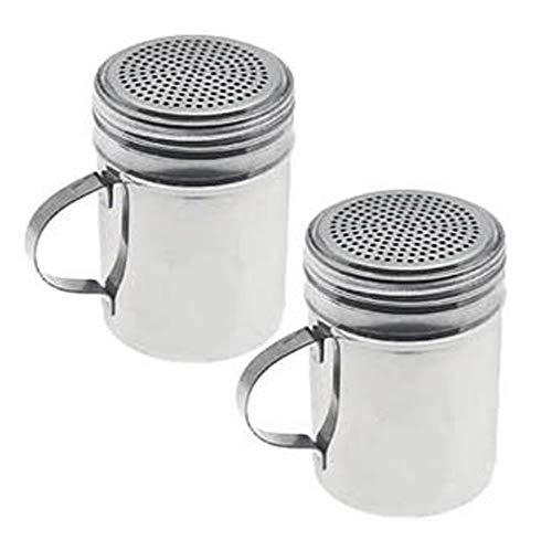 Dozenegg Stainless Steel Versatile Dredge Shaker, Set of 2
