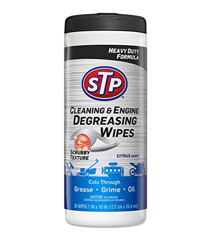 STP Car & Engine Cleaner Wipes - Cleaning for Cars, Truck, Motorcycle, Citrus, 30 Count, 18568