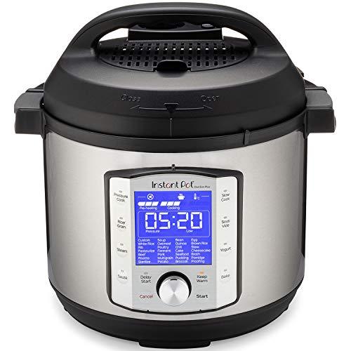 Instant Pot Duo Evo Plus 9-in-1 Electric Pressure Cooker, Sterilizer, Slow Cooker, Rice Cooker, Grain Maker, Steamer, Saute, Yogurt Maker, Sous Vide, Bake, and Warmer, 6 Quart, 10 Programs