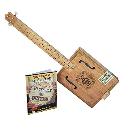 Hinkler 3 String Electric Blues Box Slide Guitar Kit (EBB)