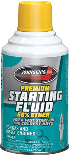 Johnsen's 6732 Premium Starting Fluid - 7.2 oz.