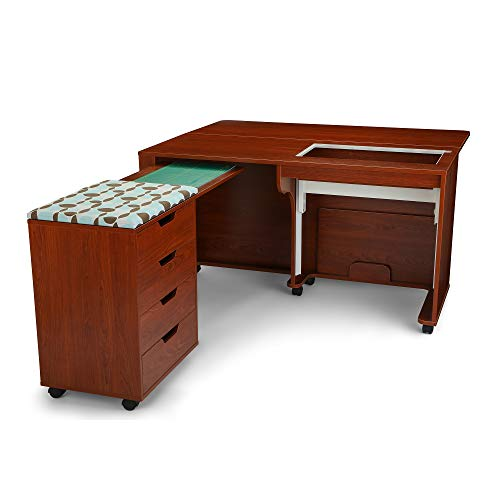 Arrow Laverne & Shirley Sewing and Quilting Cabinet with Lift and Caddy