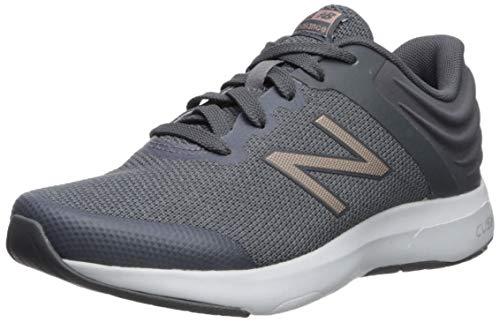 New Balance Women's Ralaxa V1 Walking Shoe, Lead/Champagne Metallic/Gunmetal, 9 M US