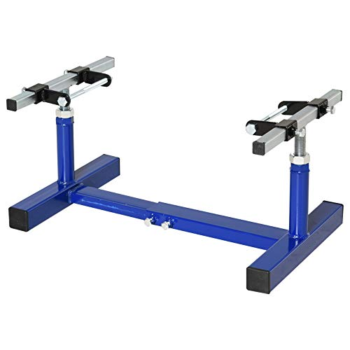 DURHAND Steel Motorcycle Engine Stand with a Simple Operation, a Strong/Stable Build, Convenient Tool in Your Garage