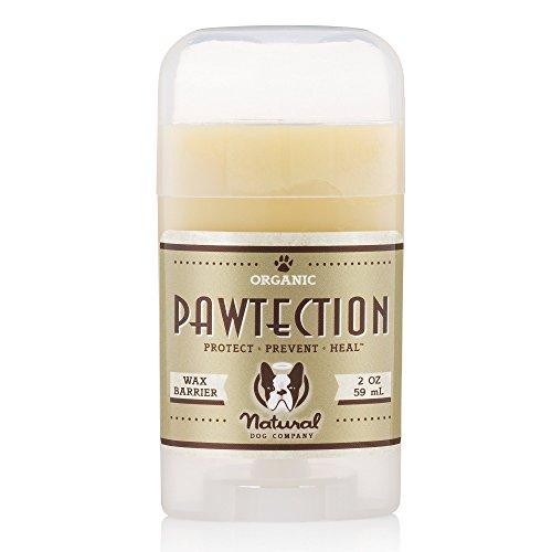 Natural Dog Company - PawTection | Protect Dog's Paw Pads, Perfect for Hot Asphalt, Salt, Snow | Organic, Vegan | 2 Oz Stick