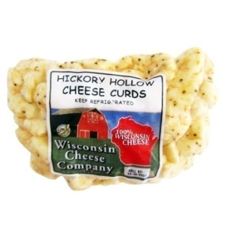 Wisconsin Hickory Hollow Smoke Flavored Cheese Curds |Famous Wisconsin Cheese Curds | Healthy Cheese Snacks