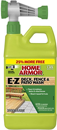 Home Armor FG51264B 80 Ounce EZ Deck Wash Hose End