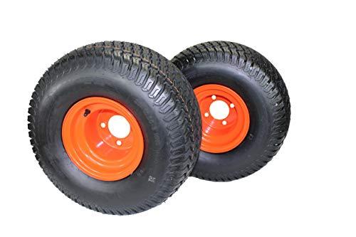 Set of 2 Bad Boy Heavy duty 20x10.00-8 Tire & Wheel Assemblies - Fits ZT Elite Models replaces 022-6000-50