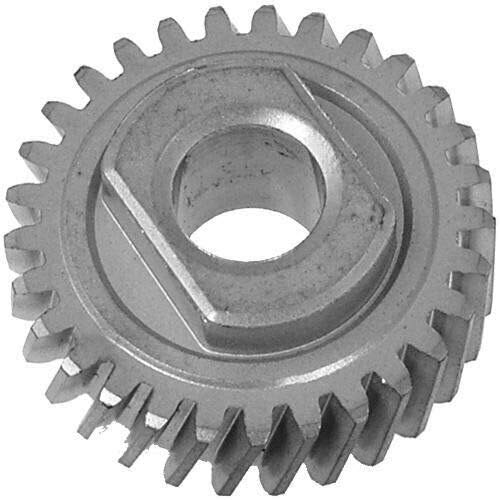 HandyTek 9706529 W11086780 Replacement Gear Parts for Kitchenaid Whirlpool Worm Partswith the 9709511 Gasket and 9703680 Circlip & 1.8 Oz Food Grade Grease