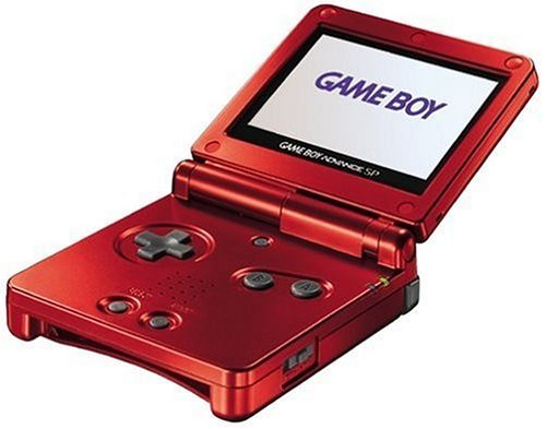 Game Boy Advance SP - Flame (Renewed)