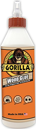 Gorilla Wood Glue, 18 ounce Bottle, (Pack of 1)