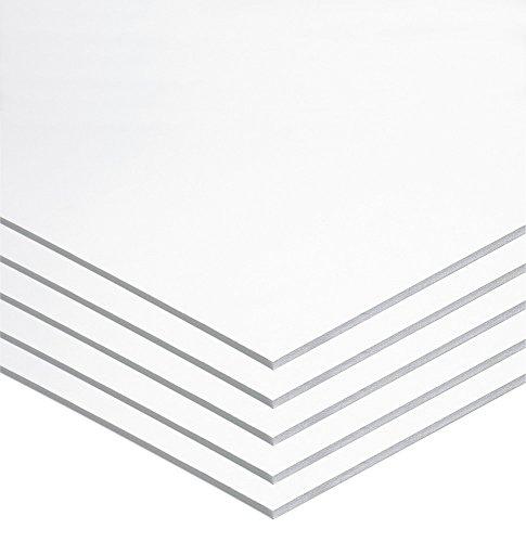 UCreate Foam Board, White, 22' x 28', 5 Sheets