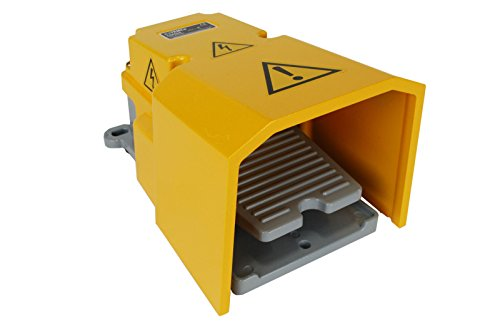 TEMCo Extra Heavy Duty Foot Switch - CN0004 W Guard 15A SPDT Electric Pedal Momentary New 5 Year Warranty