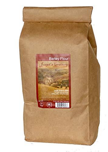 Barley Flour, 8 lbs, Joseph's Grainery Freshly Ground Flour, Non-GMO, Kosher Certified